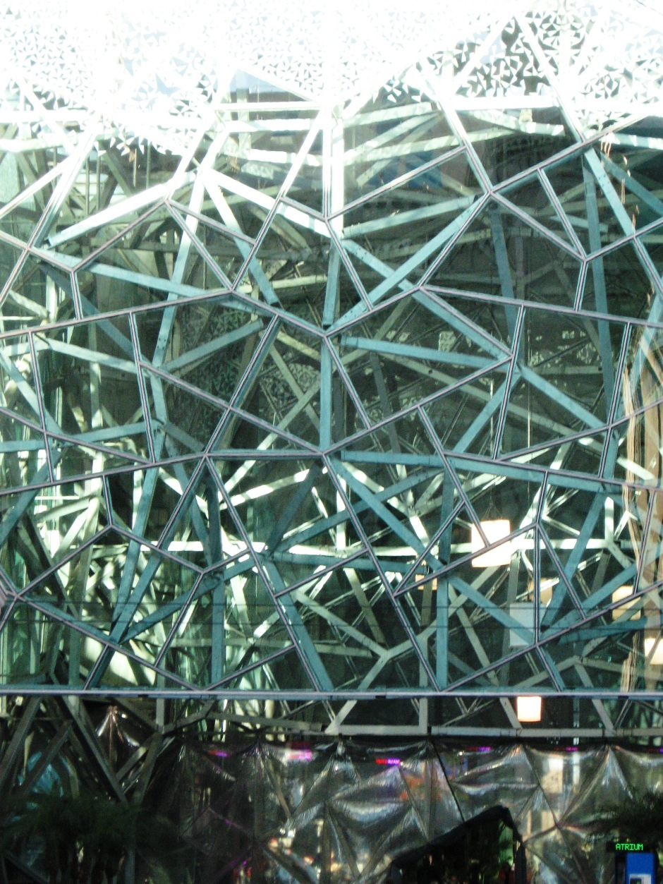 Federation Square [Detail], Melbourne, Maryann Adair, Is It Art?
