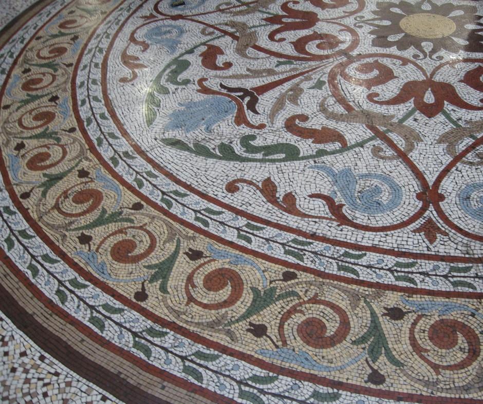 Block Arcade mosaic tiled floor, Block Arcade Melbourne, Is It Art?, Maryann Adair,