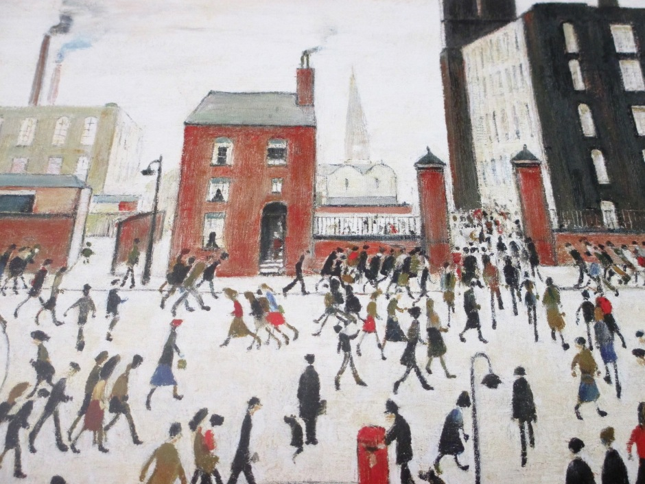Lowry mill scene, Maryannadair, Is It Art?