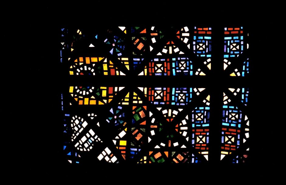 Leonard French, stained glass ceiling, National Gallery of Victoria, Is It Art?, Maryann Adair,