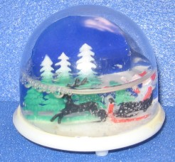snowdomes, Christmas, Santa, Is It Art?, Maryann Adair,