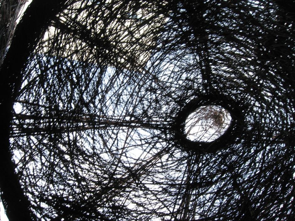 "Patrick Dougherty - ""Ballroom"", Installation, Urban art, Maryann Adair, Is It Art?"