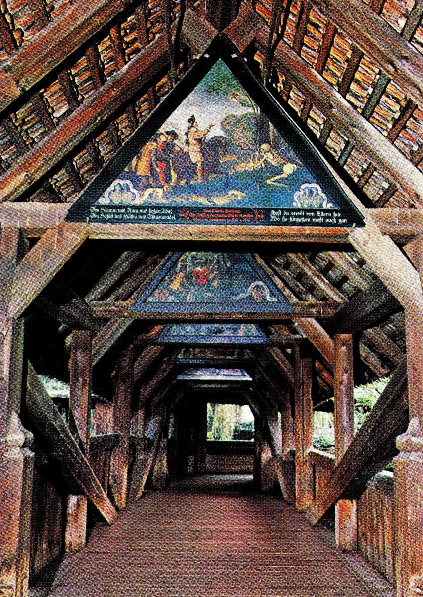 Kapellbr 252 Cke Aka Lucerne S Chapel Bridge Maryann Adair