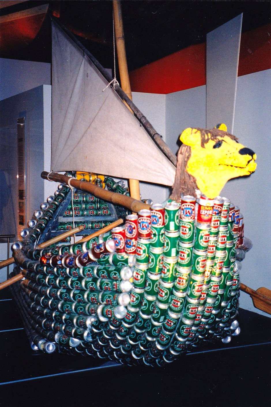 Darwin, Beer Can Regatta, Tinnie Boat, Maryann Adair, Is It Art?