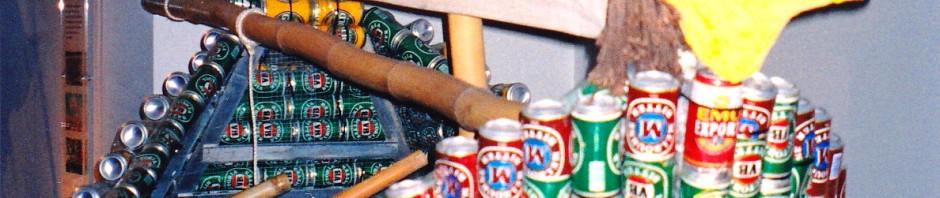 Darwin, Beer Can Regatta, Tinnie Boat, Maryann Adair, Is It Art?