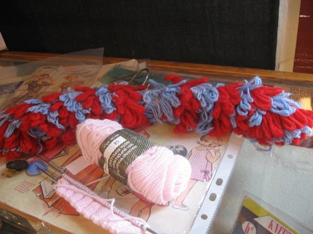 crochet coat hanger