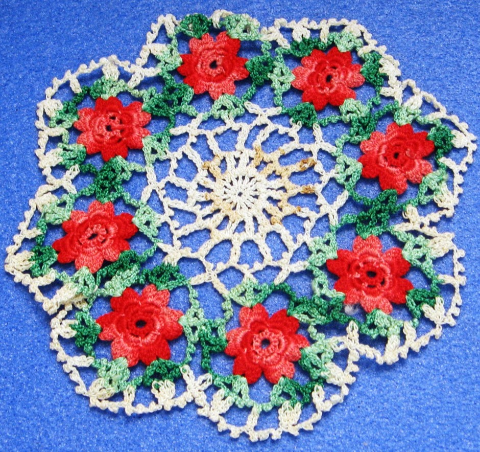 crochet lace doilly