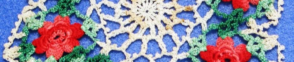 crochet lace doilly, Maryann Adair, Is It art?