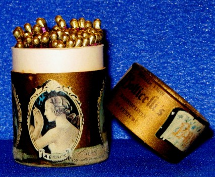 gold tipped matches Florence Italy