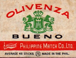 olivenza matches, Bueno, Philippine Match Company, MaryAnn Adair, Is It Art?