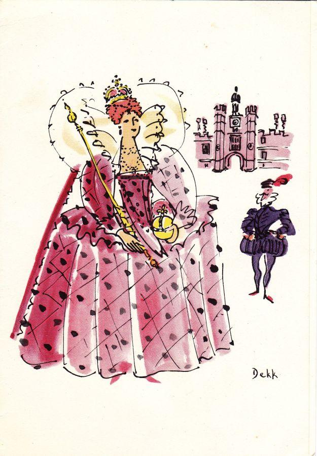 Dorrit Dekk, Queen Elizabeth menu | SS Orsova | P&O Shipping Lines