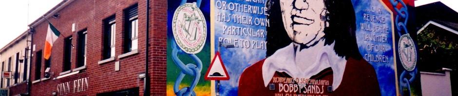 Bobby Sands memorial - Sinn Fein, Belfast, Maryann Adair, Is It Art?