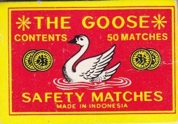 The Goose matches, made in Indonesia, Maryann Adair, Is It Art?