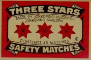 three stars matches - Sweden