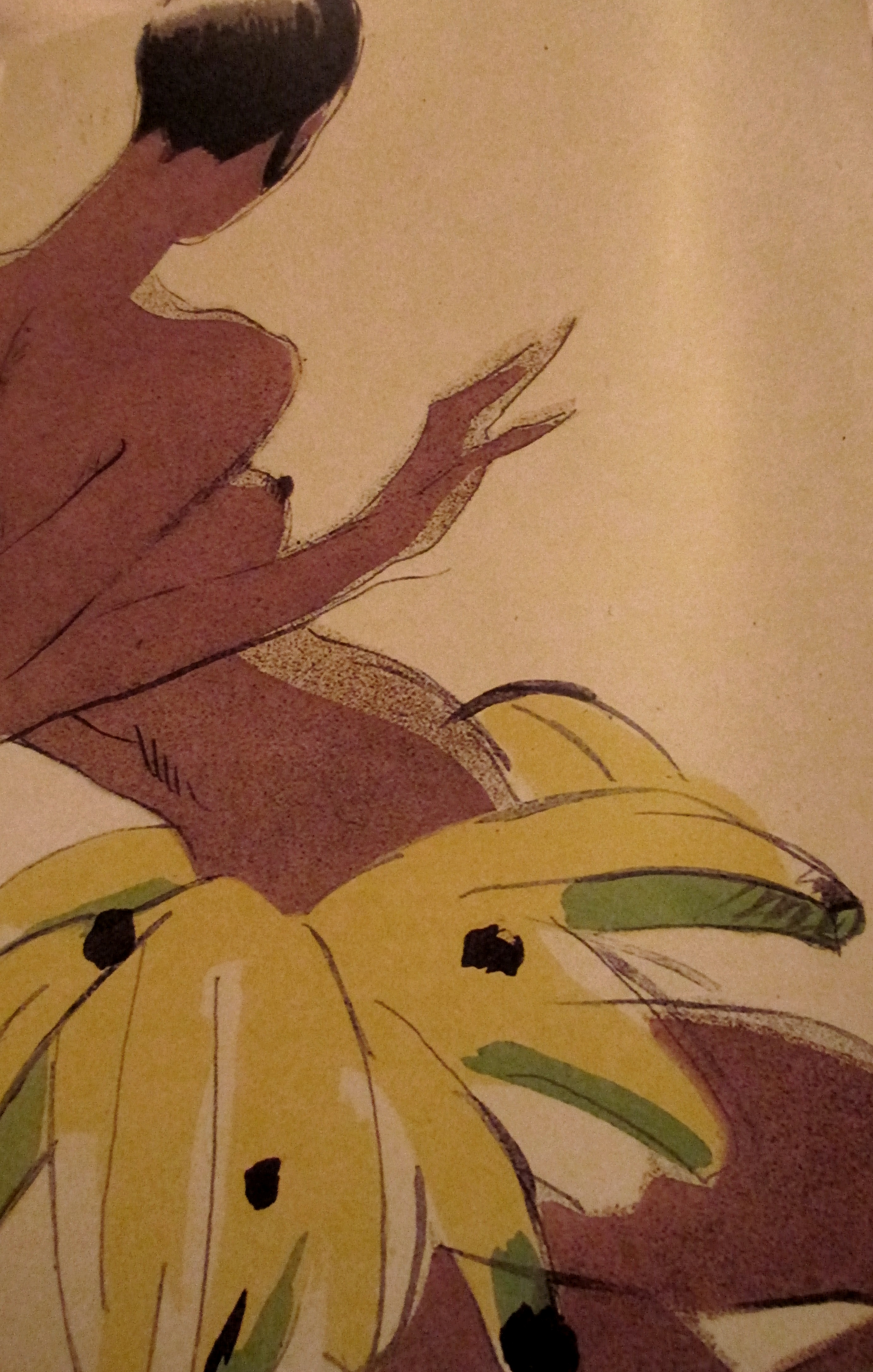 What Is It About Bananas on Modern Art Deco Furniture