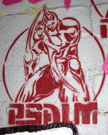 Psalm | stencil artist