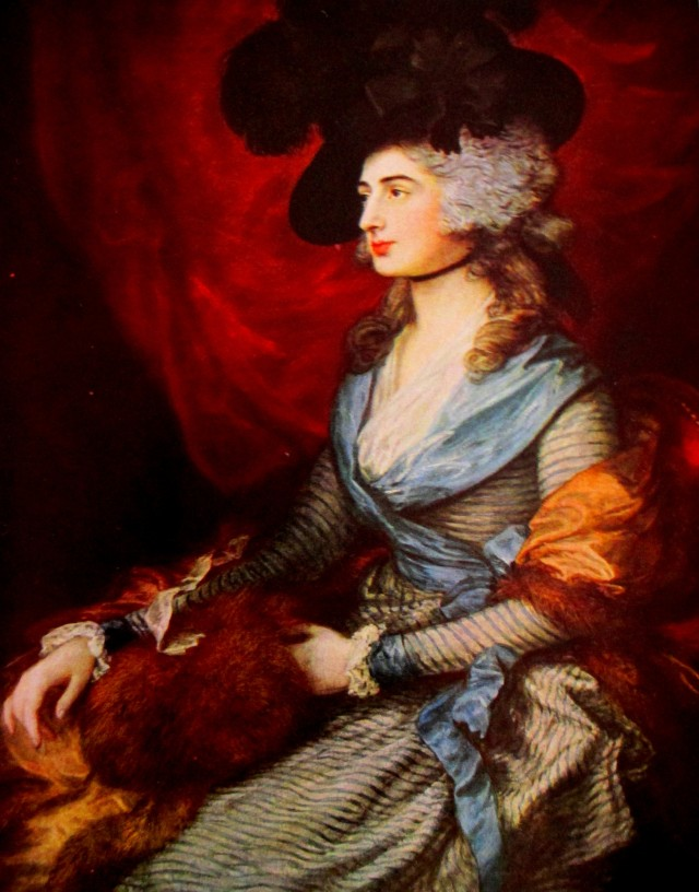 thomas gainsborough honorable mrs. graham