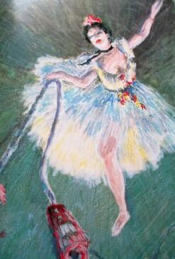 Sally Swain, - Great Housewives of Art   Mrs Degas Vacuums the Floor