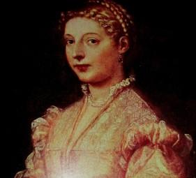 Titian   Portrait of a Girl (Lavinia)