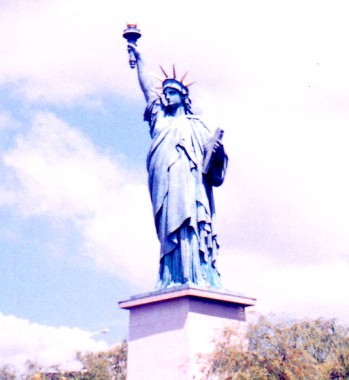 Liberty Statue in Paris