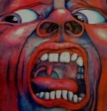 Barry Godber | King Crimson Record CoverKing Crimson - Court of the Crimson King Record Cover