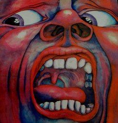 King Crimson - Court of the Crimson King Record Cover