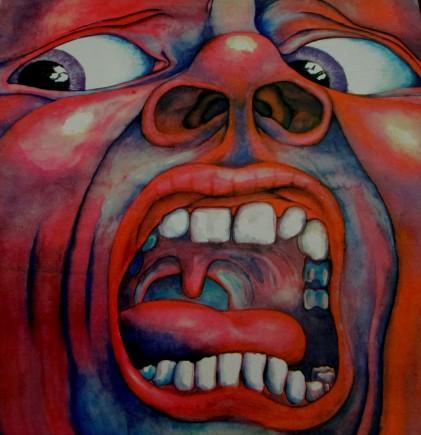 Barry Godber | King Crimson Record CoverKing Crimson - Court of the Crimson King Record Cover