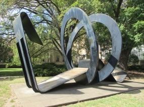 Inge King - Melbourne University Sculpture, is it art?