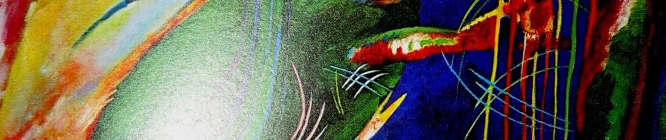 Wassily Kandinsky | Painting with Three Splashes