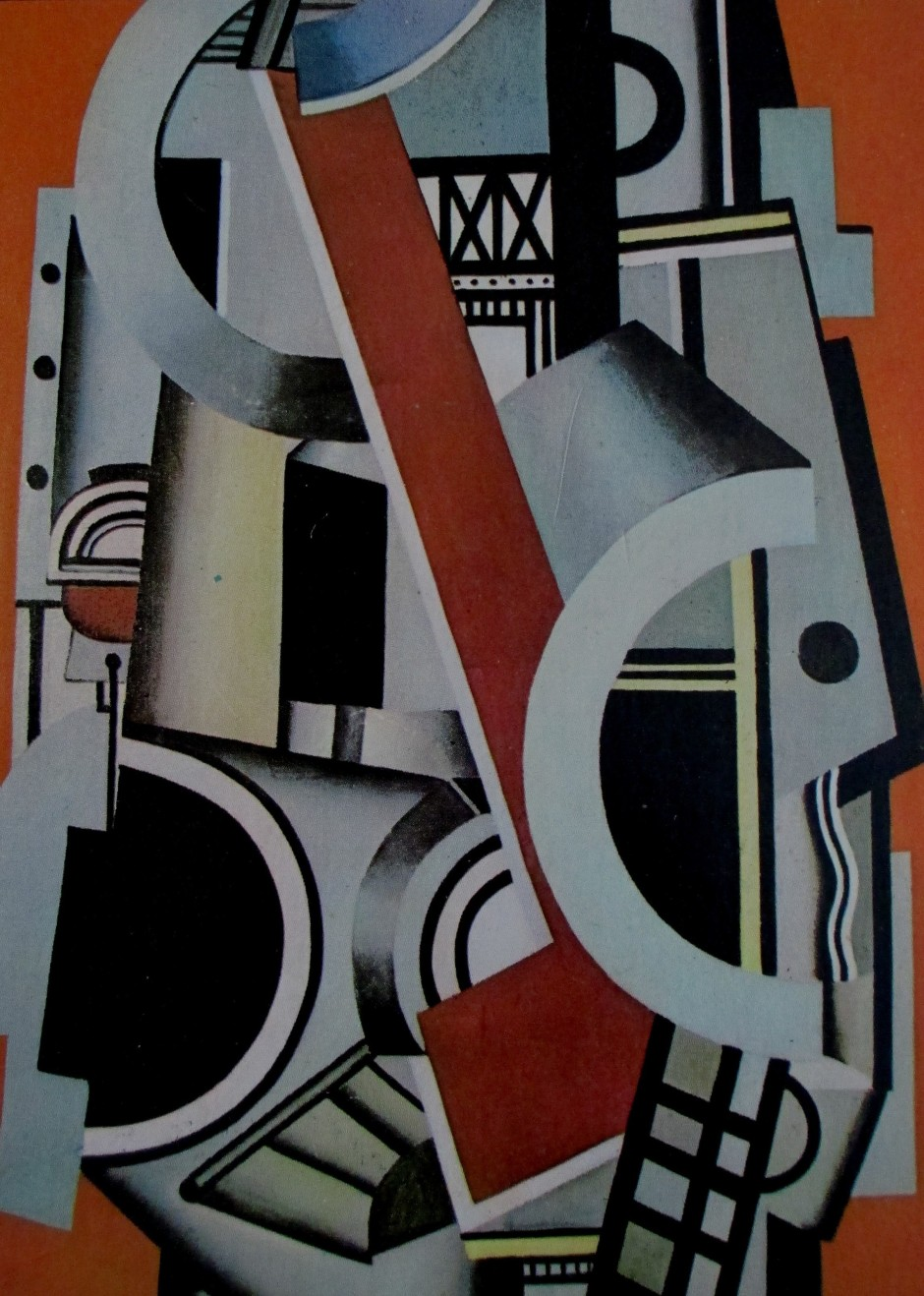 Fernand Leger - Mechanical elements