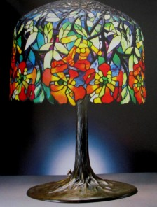 Tiffany lamp - Favrile glass