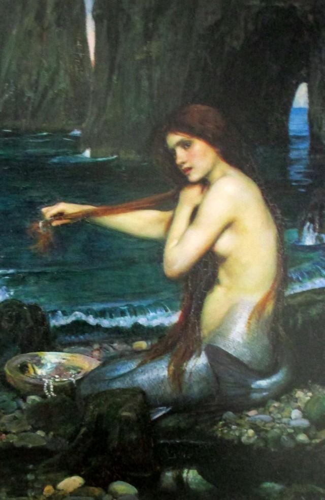 john waterhouse-mermaid
