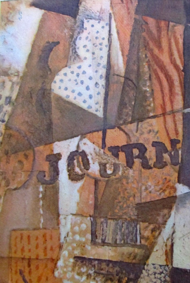 georges braque - argenteuil glass & newspaper