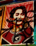 Shepard Fairey - Free to Lead