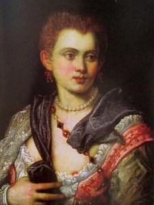 tintoretto - veronica franco