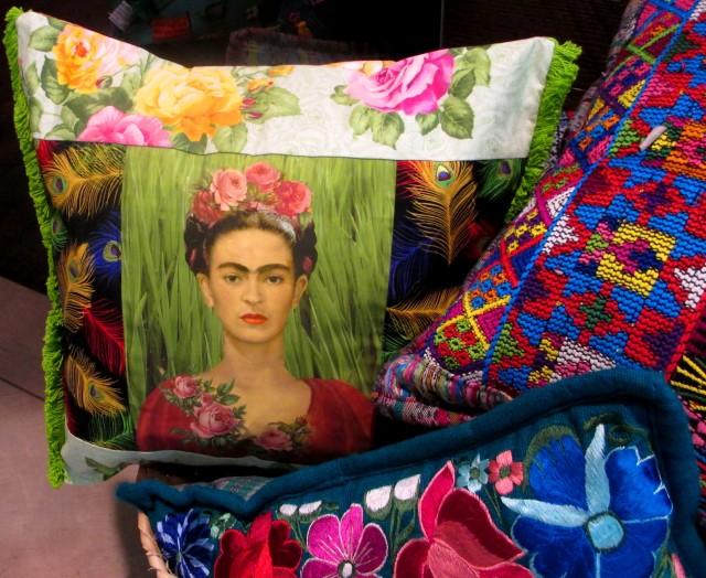 kahlo pillow