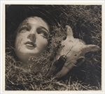 Max Dupain Doll's head and goat's skull