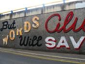 Morphett Street Wall - Adelaide