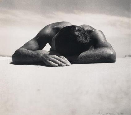 Max Dupain - sunbaker beach