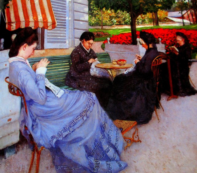 Gustave-Caillebotte-Portraits-in-the-country