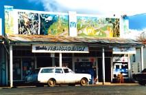Nimbin Newsagency Shop Front art