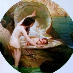 herbert draper - water baby