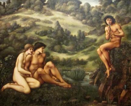 Burne-Jones - The Garden of Pan