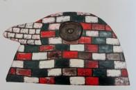 Dean Bowen - bird wall, Australian artists, is it art?