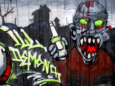 Ill Demons mural