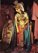 Cleopatra Waxwork