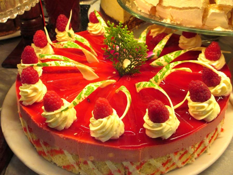 Hopetoun Tearooms | raspberry cake