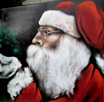 Christmas Street Art in Canberra