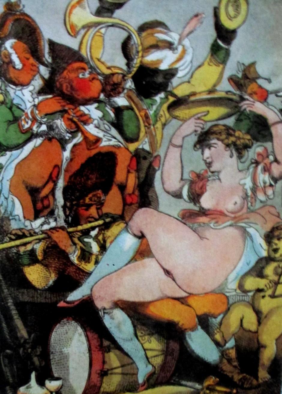 Thomas Rowlandson - The Tambourine
