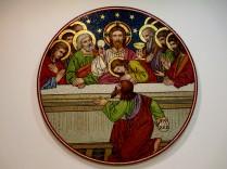 The Last Supper - in Venetian Murano glass